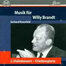 Gerhard Rosenfeld (1931-2003): Violinkonzert Nr.2, CD