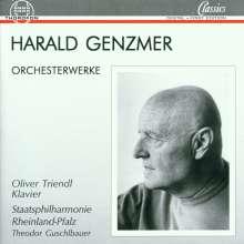 Harald Genzmer (1909-2007): Orchesterwerke Vol.1, CD