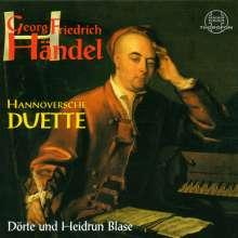 """Georg Friedrich Händel (1685-1759): 9 Italienische Duette (""""Hannoversche Duette""""), CD"""