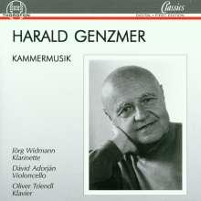 Harald Genzmer (1909-2007): Trio für Klarinette,Cello & Klavier, CD