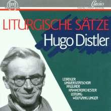 Hugo Distler (1908-1942): Liturgische Sätze op.13, CD