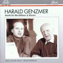 Harald Genzmer (1909-2007): Sonate für Posaune & Klavier, CD