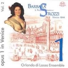 Barbara Strozzi (1619-1677): Primo Libro de Madrigali (1644), 2 CDs