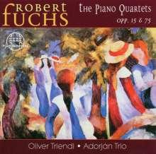 Robert Fuchs (1847-1927): Klavierquartette op.15 & 75, CD