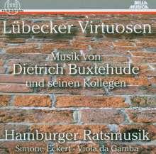 Lübecker Virtuosen - Musik von Dietrich Buxtehude & Kollegen, CD
