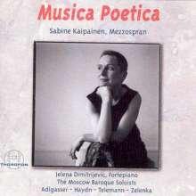 Sabine Kaipainen & Musica Poetica, CD