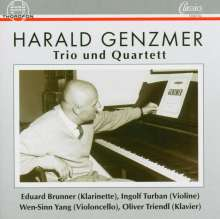 Harald Genzmer (1909-2007): Klaviertrios (1944/67 & 1964), CD