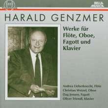 Harald Genzmer (1909-2007): Kammermusik, CD