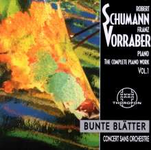 Robert Schumann (1810-1856): Das komplette Klavierwerk Vol.1, CD