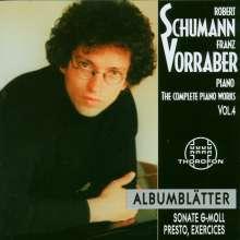 Robert Schumann (1810-1856): Das komplette Klavierwerk Vol.4, CD