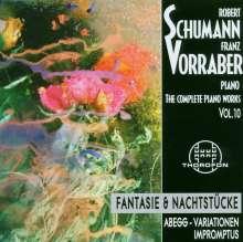 Robert Schumann (1810-1856): Das komplette Klavierwerk Vol.10, CD
