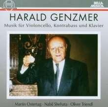 Harald Genzmer (1909-2007): Sonaten für Cello & Klavier Nr.1 & 2, CD