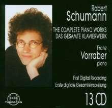 Robert Schumann (1810-1856): Das Klavierwerk, 13 CDs