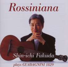 Mauro Giuliani (1781-1829): Le Rossiniane Nr.1-3, CD