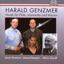 Harald Genzmer (1909-2007): Sonate für Klarinette & Klavier, CD