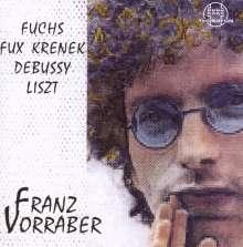Franz Vorraber,Klavier, CD