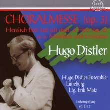 Hugo Distler (1908-1942): Chorwerke, CD