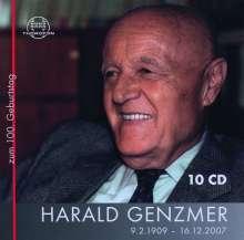 Harald Genzmer (1909-2007): Harald Genzmer Edition - 9.2.1909 bis 16.12.2007, 10 CDs