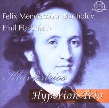 Emil Hartmann (1836-1898): Klaviertrio op.10, CD