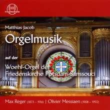 Matthias Jacob - Orgelmusik auf der Woehl-Orgel der Friedenskirche Potsdam-Sanssouci, CD