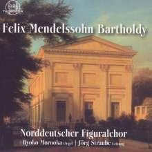 Felix Mendelssohn Bartholdy (1809-1847): Geistliche Chorwerke, CD