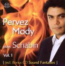 Pervez Mody plays Alexander Scriabin Vol.1, 2 CDs