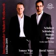 Internationaler Schubert-Wettbewerb Lied Duo 2009, CD