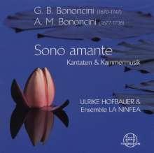 Antonio Maria Bononcini (1677-1726): Kanaten für Sopran, CD