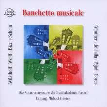 Gitarrenensemble der Musikakademie Kassel - Banchetto musicale, CD