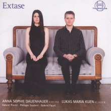 Anna Sophie Dauenhauer & Lukas Maria Kuen - Extase, CD