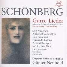 Arnold Schönberg (1874-1951): Gurre-Lieder für Soli,Chor & Orchester (Fassung für reduziertes Orchester von Erwin Stein), 2 CDs
