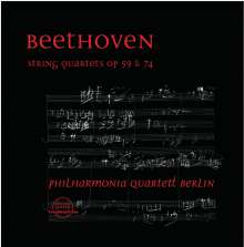 Ludwig van Beethoven (1770-1827): Streichquartette Nr.7-10, 2 CDs