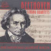 Ludwig van Beethoven (1770-1827): Sämtliche Streichquartette, 8 CDs