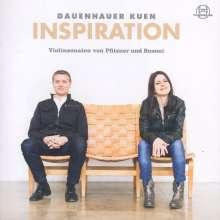Anna Sophie Dauenhauer & Lukas Maria Kuen - Inspiration, CD