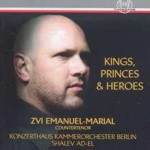 Zvi Emanuel-Marial - Kings, Princes & Heroes, CD