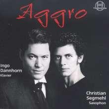 "Musik für Saxophon & Klavier ""Aggro"", CD"
