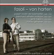Valerio Fasoli & Katharina Fasoli-von Harten - Kammermusik für Querflöte & Violine, CD