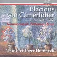 Placidus von Camerloher (1718-1782): Sinfonien, Kammermusik & Arien, CD
