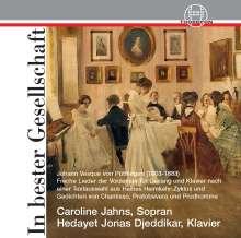 "Johann Hoven (Johann Vesque von Püttlingen) (1803-1883): Lieder ""In bester Gesellschaft"", CD"