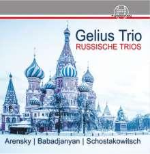 Gelius Trio - Russische Trios, CD