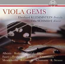 Eberhard Klemmstein & Oda Schmidt - Viola Gems, CD