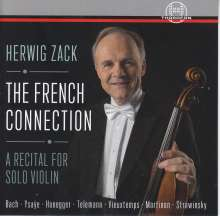 Herwig Zack - The French Connection, CD