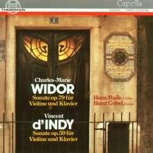 Charles-Marie Widor (1844-1937): Sonate f.Violine & Klavier op.79, CD
