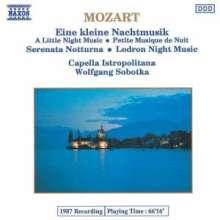 Capella Istropolitana: Mozart:eine Kleine Nachtmus, CD