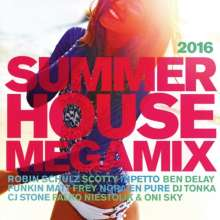 Summer House Megamix 2016, 2 CDs