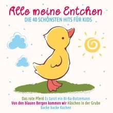 Alle meine Entchen: Die 40 schönsten Hits für Kids, 2 CDs