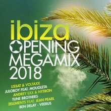 Ibiza Opening Megamix 2018, 2 CDs