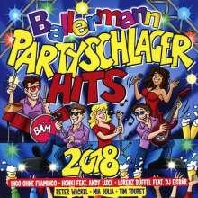 Ballermann Partyschlager Hits 2018, 2 CDs