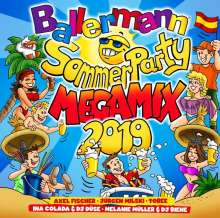 Ballermann Sommerparty Megamix 2019, 2 CDs