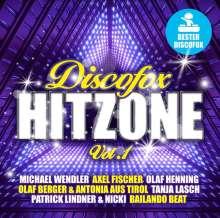 Discofox Hit Zone Vol.1, 2 CDs
